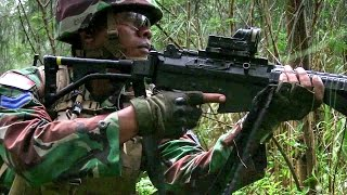 U.S., Australian, And Indonesian Military In Amphibious Raid Training
