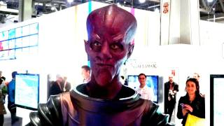 ALIEN Plays MLB 12 The Show at CES 2012