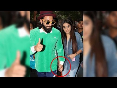 OMG! Ranveer Singh Spotted Hand-In-Hand With A Mystery Girl