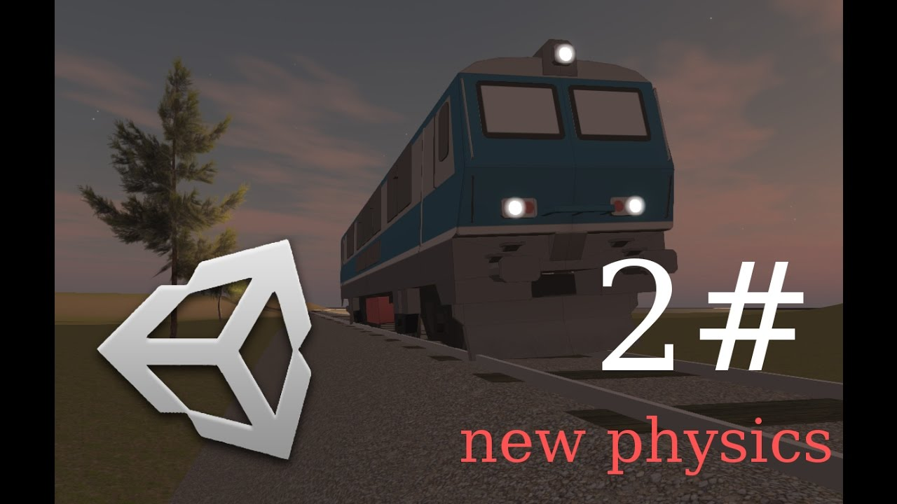2# Test of Unity3D Train simulator