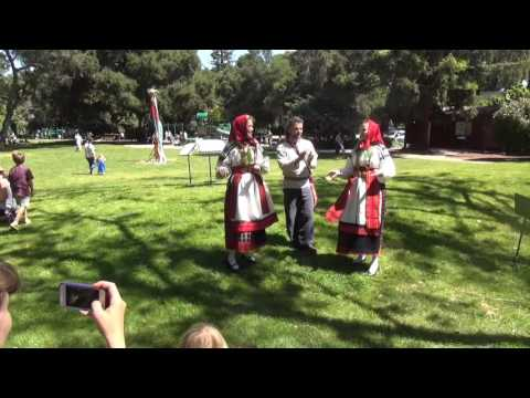 "Folk Group ""Dolina"" (Russian Fair in Palo Alto)"