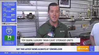 Іграшка шавка розкішні гаражі на NBC12 (6/6/2019)