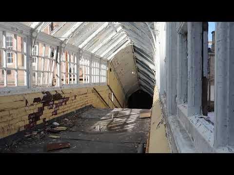 Abandoned Rosslynlee Mental Hospital   Midlothian Scotland 2018