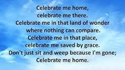Celebrate Me Home with Graphics
