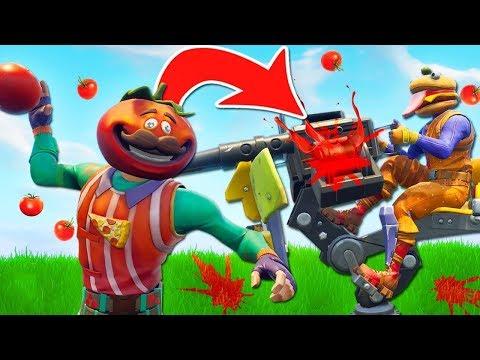 Fortnite Tomato madness! [Funny Fortnite Edits]