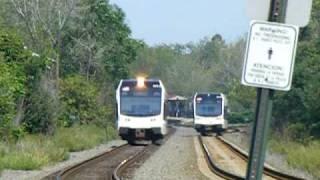 NJ Transit River Line at Griffith -Morgan Blvd, Pennsauken N