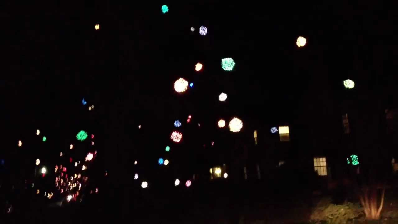 greensboros mysterious christmas tree balls - Christmas Light Balls For Trees