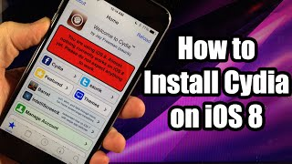 How to Install Cydia on iOS 8