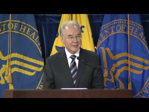 """Reimagine HHS"" – Speech by Secretary Tom Price, M.D."