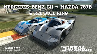 Real Racing 3 Mazda 787B vs Mercedes-Benz C11 @ Red Bull Ring RR3