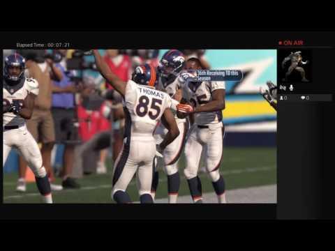 NFL San Diego Chargers VS Denver Broncos