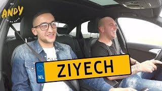 Hakim Ziyech 2016 - Bij Andy in de auto