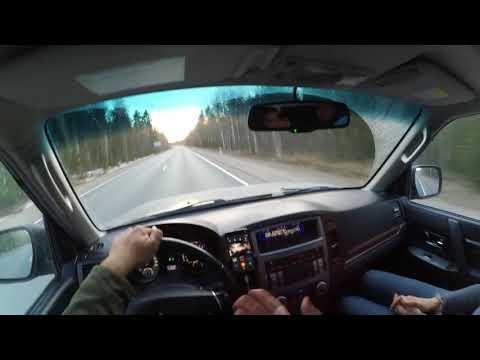 Расход топлива удивил! Поездка в Заполярье на Mitsubishi Pajero 4.