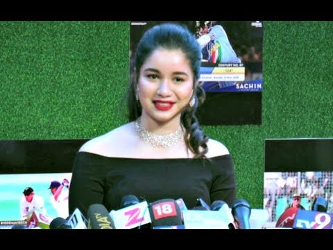 Sara Tendulkar Interview At Sachin A Billion Dreams Movie Premiere