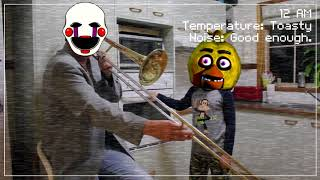 chica and the puppet in ultimate custom night