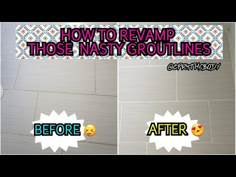DIY: How to Change your Grout Color |CPR4THEBODY|