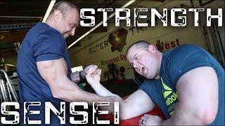 The Strength Sensei Beats Up Mark Bell