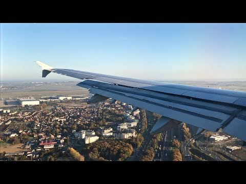 Morning Paris Landing – Air France – Airbus A321-200 – CDG – F-GTAD – SCS Ep. 145