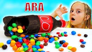 Ulya تحدي الشوكولاته والصودا لأمي