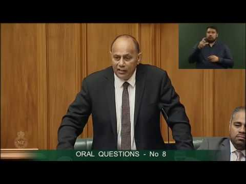 Question 8 - Lawrence Yule to the Minister of Employment