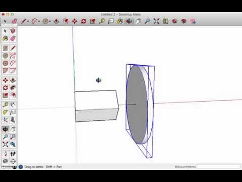 Making a Truly Solid Model for 3d Printing in Sketchup