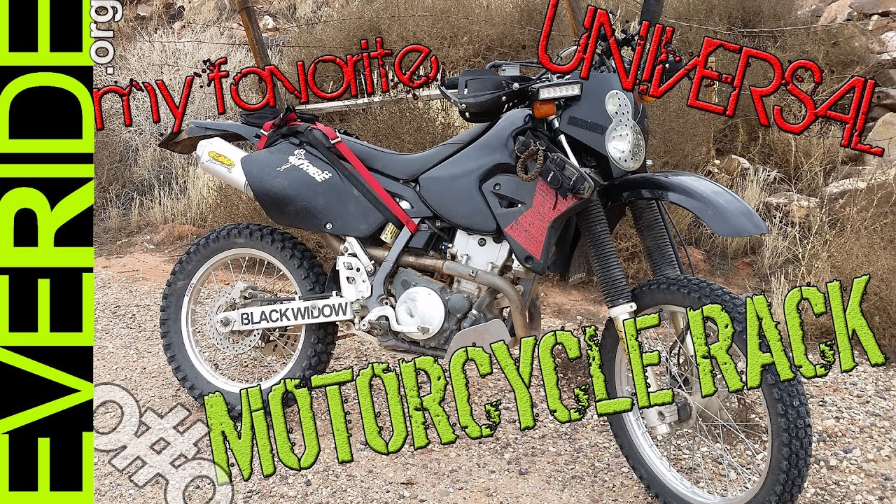 Best Enduro Motorcycle >> Review: The Best Universal Motorcycle Rack in the World o#o - YouTube