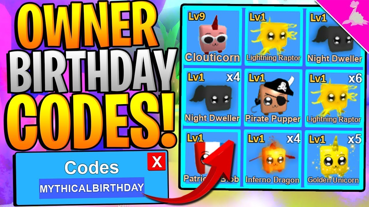 9 Mythical Roblox Mining Simulator Owner Birthday Codes Youtube