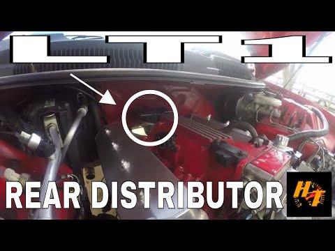 LT1 411 LS1 pcm swap part 1: Rear distributor conversion