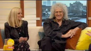 "Brian May & Kerry Ellis ""Good Morning Britain"" 07042017"