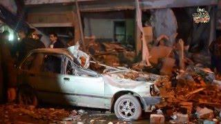 شهود عيان يروون تفاصيل إنفجار فيصل