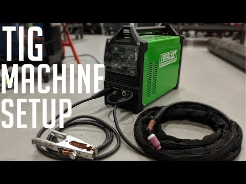 How To Setup A TIG Welder (Everlast 210EXT)