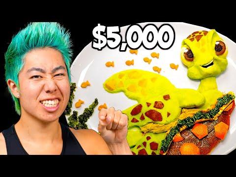Best Food Art Wins $5,000 Challenge! | ZHC Crafts