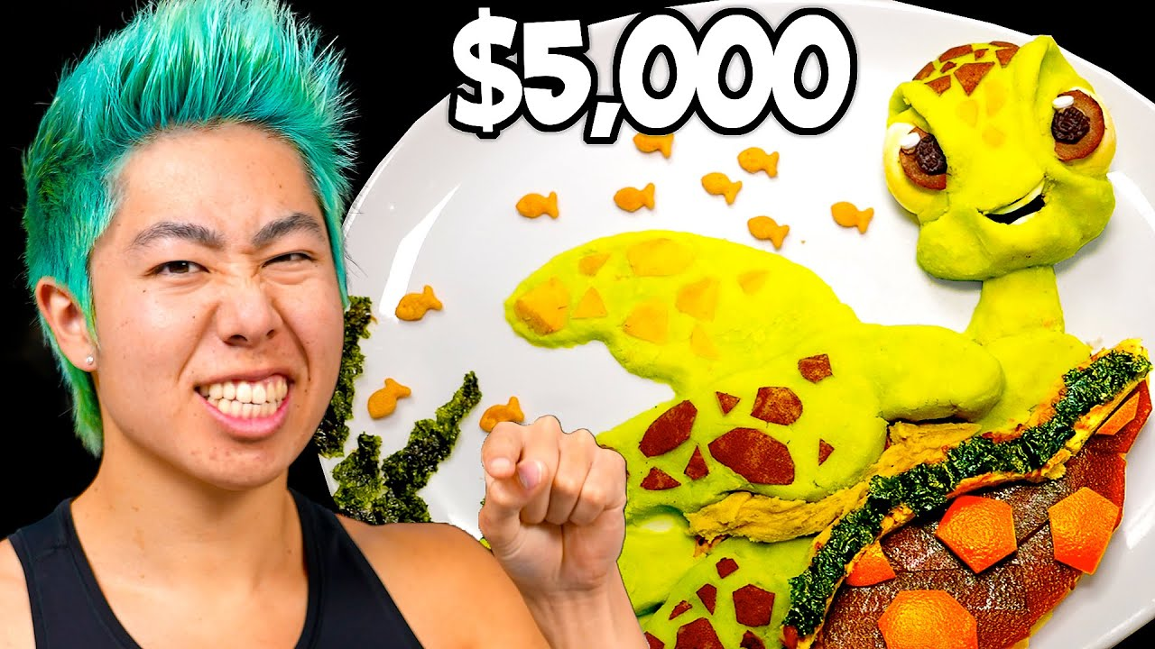 Best Food Art Wins $5,000 Challenge! | ZHC Crafts