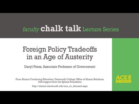 Foreign Policy Tradeoffs in an Age of Austerity