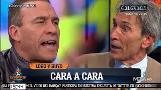 💥PIQUE HISTÓRICO LOBO CARRASCO VS. PACO BUYO 💥 en El Chiringuito