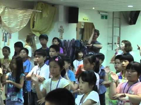 Bible Times Vacation Bible School, Bilingual Community Church, Kaohsiung, Taiwan, July, 2014