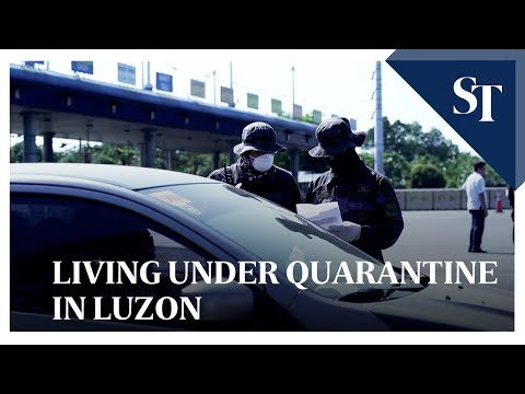 Living under quarantine in Luzon | The Straits Times