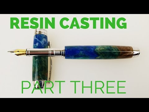Resin overview (Part 3) Making a pen