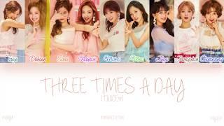 Twice (트와이스) - three times a day (하루에 세번) with hangul, romanization and english subs. [song info] title: artist: albu...