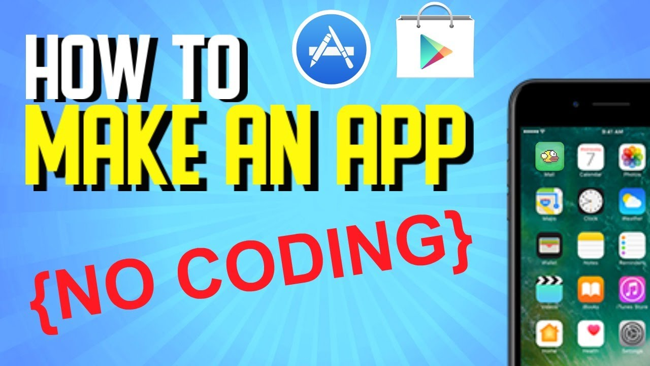 How to Create an App Without Coding 2019 (Mobile Game App Developing)