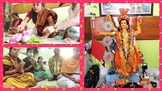 Bengali Vlog # আজ Office এর পুজো দেখাতে গিয়ে...দেখলাম আমাদের নতুন Flat🏠