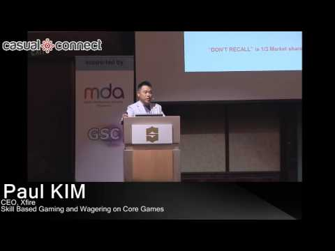 Skill Based Gaming and Wagering on Core Games | Paul KIM