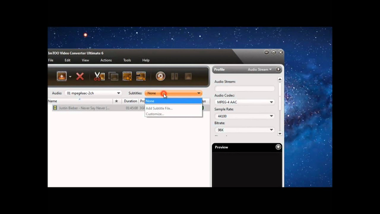 Add hardcore subtitles using imtoo video converter youtube ccuart Image collections