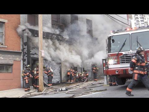Garage Fire in Yonkers