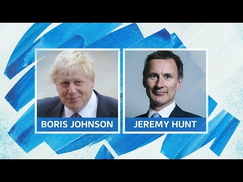 Live: Tory leadership