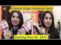 Huge Flipkart Footwear Haul || Sandals, flats, sneakers, Heels, Canvas Shoes || Sarita Malik