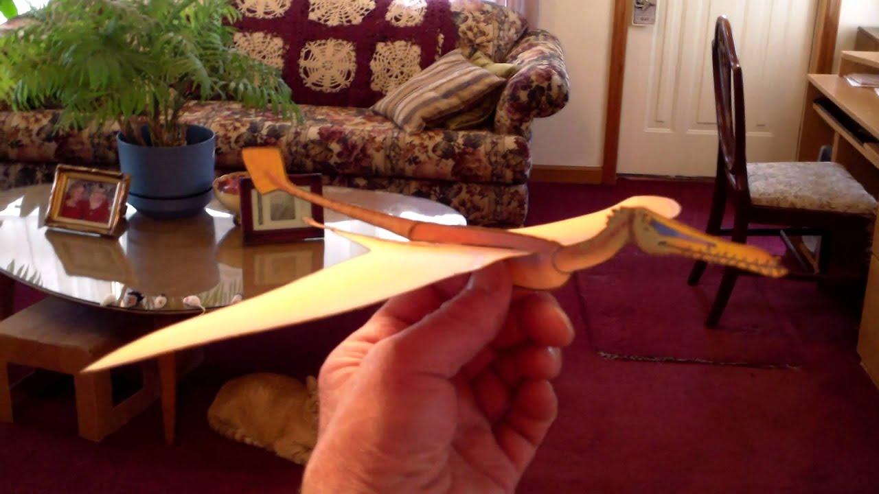 Papercraft fiddlersgreen flying dinosaur paper model gliders