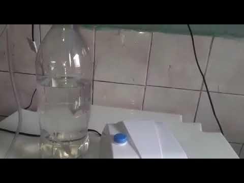 Internauta apresenta técnica  nova e artesanal em oxigênio hospitalar