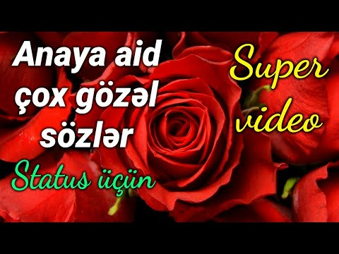 Canım Anam - Anaya aid çox gözəl sözlər (Status üçün)