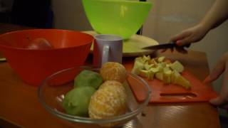 "Рецепт фруктового салата от компании ""Румянцев"""